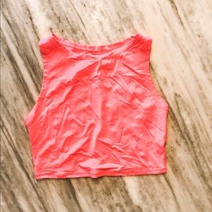 {Victoria's Secret} Hot Pink Cropped Tank